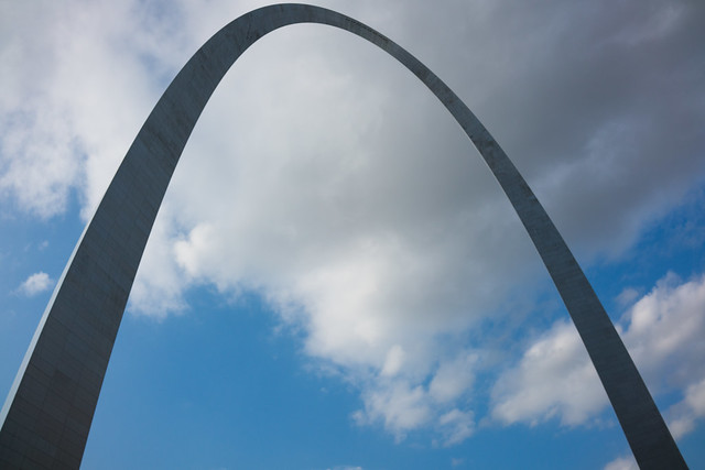 Eero Saarinen's Gateway Arch from Flickr via Wylio