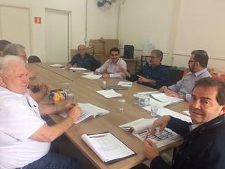Direção nacional continua série de reuniões com presidentes