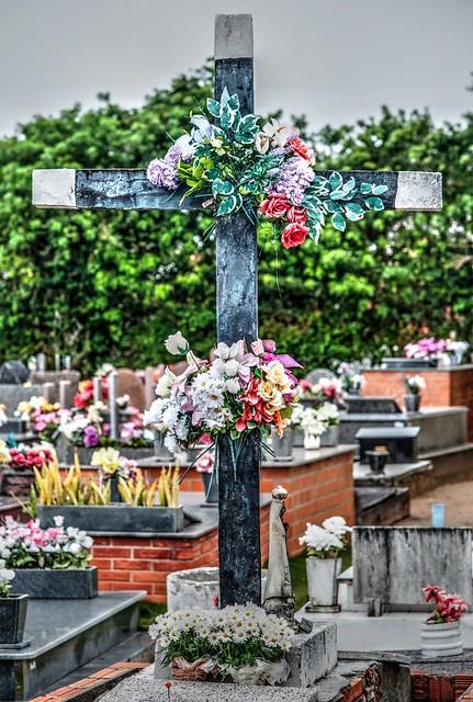 As cores do cemitério