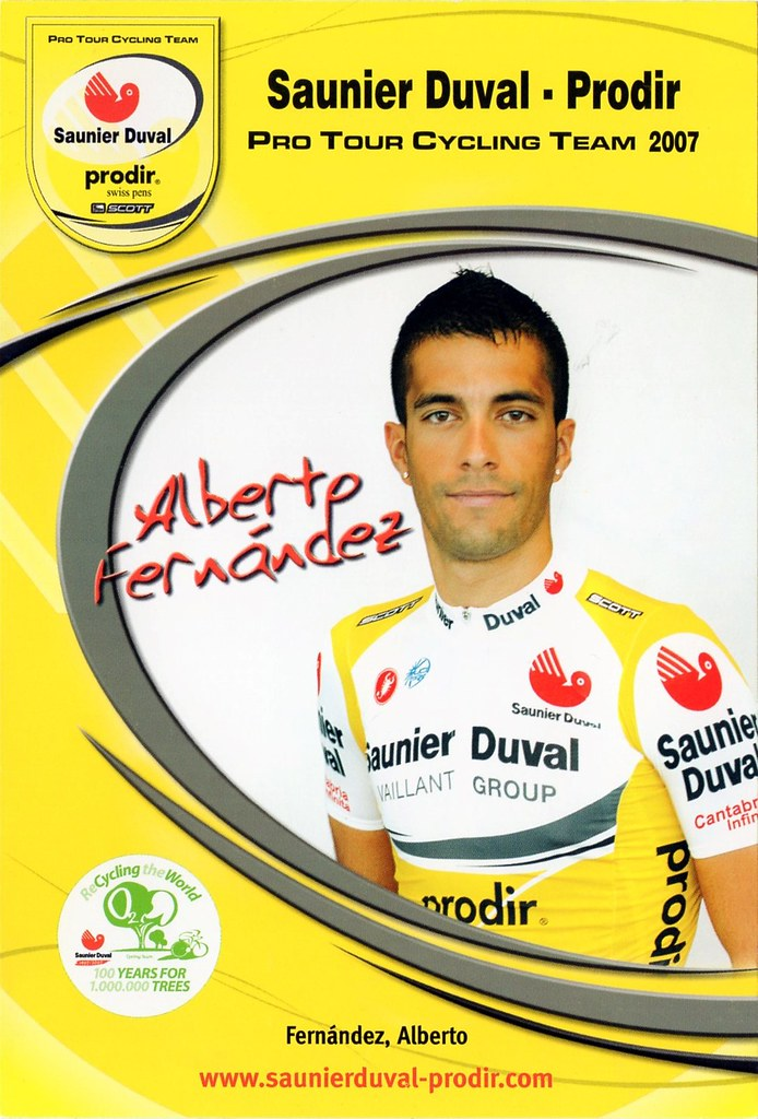 Alberto Fernandez - Saunier Duval Prodir 2007