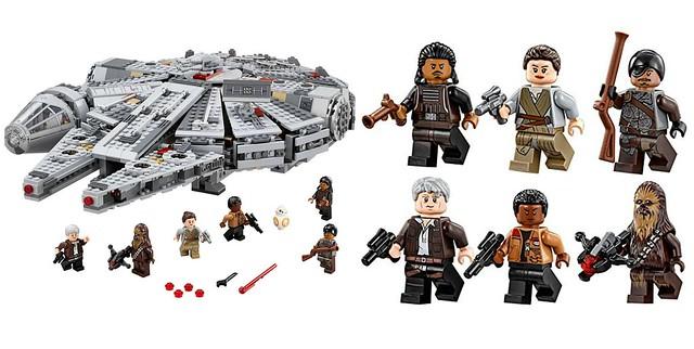 Unboxing Halcón Milenario de Lego