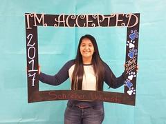 Congratulations to Adriana Garcia who got accepted to Schreiner University in Kerrville, Texas! #CollegeBound #CollegeBoundBulldogs #Somerset2017