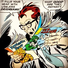 "Comic Book Dad (not me or mine, thankfully!) ""Happy"" Father's Day! #comicbooks"