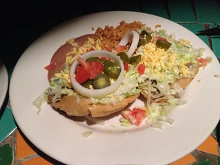 Puffy Taco Plate at Vivo