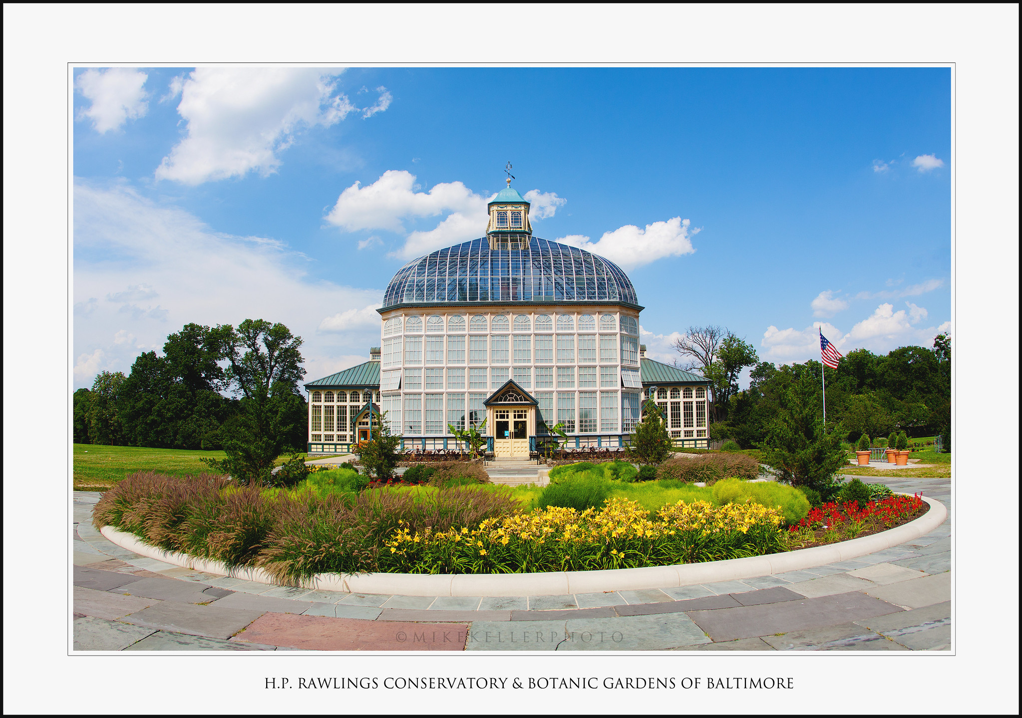 Botanical Gardens Baltimore Rawlings Conservatory And
