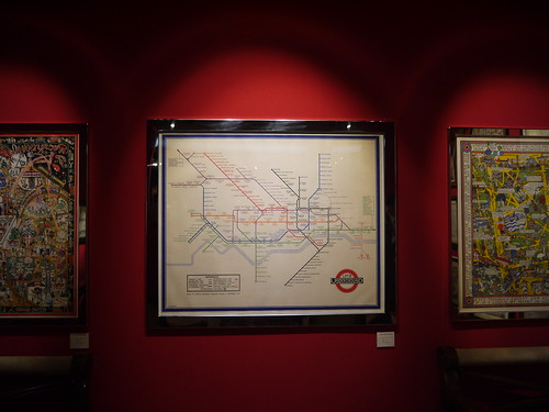 Harry Beck Underground map Masterpiece London 2013