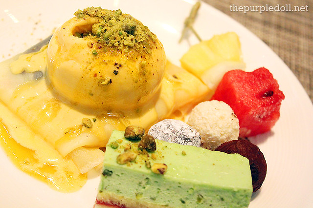 Crepe, Cakes, Truffles and Fruits at Spiral Sofitel Manila