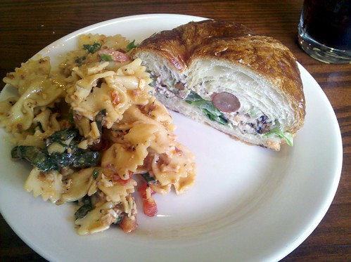 Chicken Salad Sandwich & Pasta