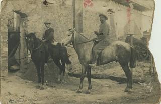 Maroc 1913 , mon grand-père, Etienne, à 14 ans (ou tout début 1914)