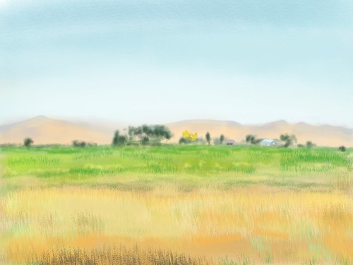 painting sketch idaho pleinair ipad sketchclub ipadart