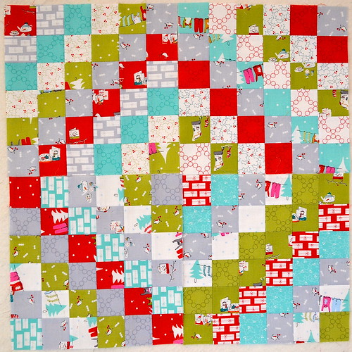 Cherry Christmas Scrappy Trip Along blocks