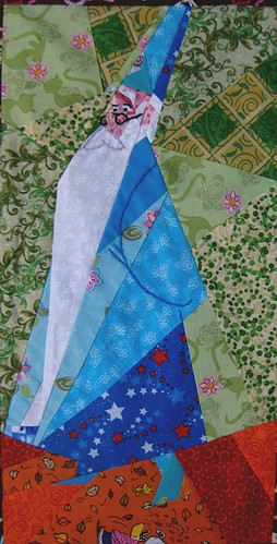 Disney Mystery Quilt, Block 7, Merlin