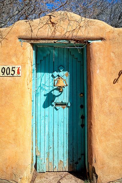 Santa fe door flickr photo sharing