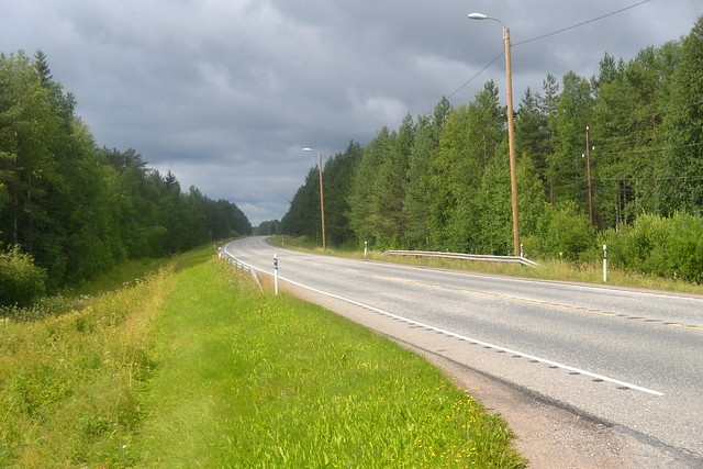Highway 4 in Koivu
