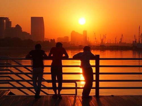 sunrise boulevard baku azerbaijan promenade aserbaidschan bulvar aserbajdsjan