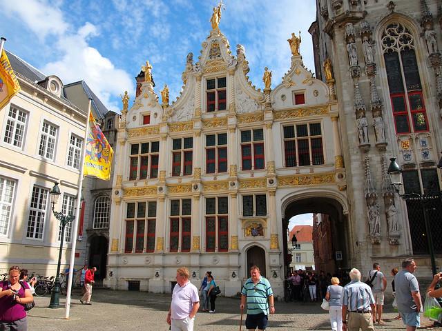 Bruges Burg Square