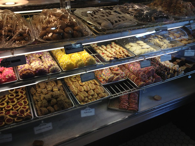 Assorted Italian cookies at Isgri's in South Philly