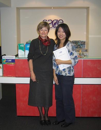 CAE Graduate Yukiko Hombo