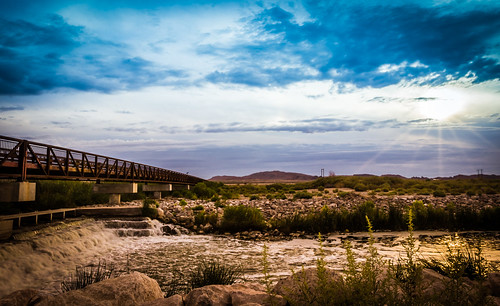 park bridge las vegas sky water canon landscape nevada scenic falls wetlands t3i 600d