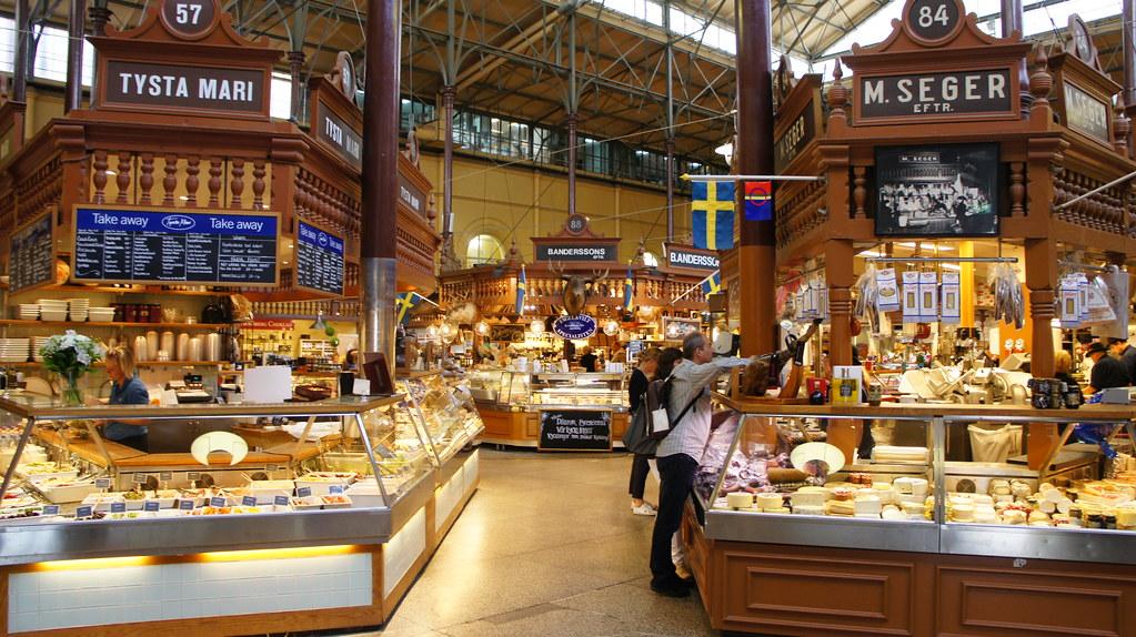 Mercado Saluhall-Estocolmo