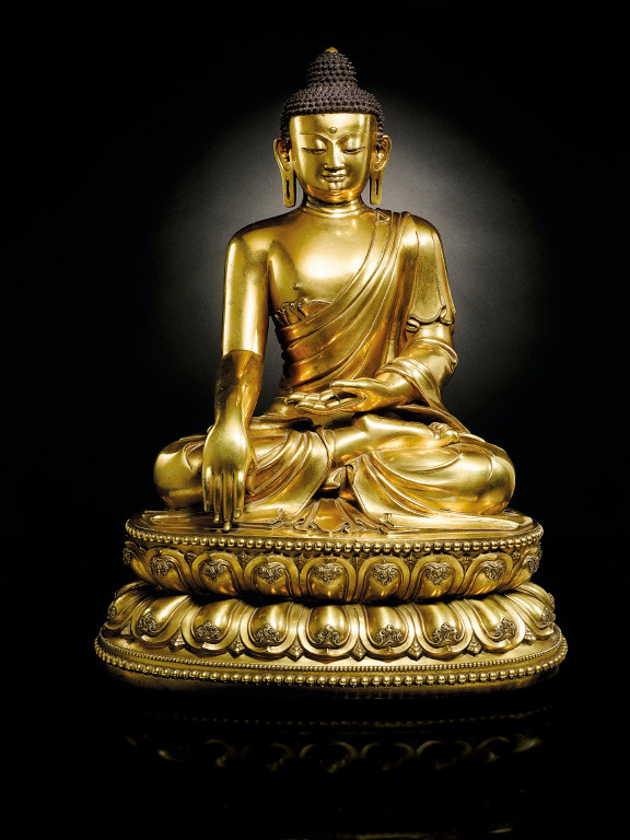 VO_Ming Yongle Gilt-Bronze Shakyamuni Buddha-1.jpg