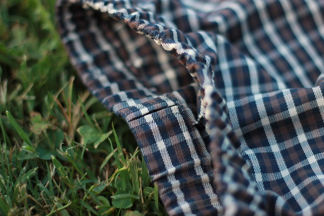 Pyjama d'homme - détail pantalon