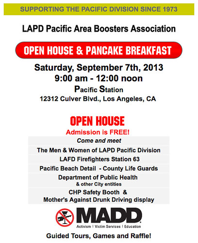 LAPD Pacific Boosters