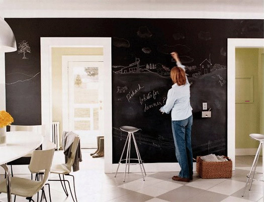 chalkboard-walls-checker-board