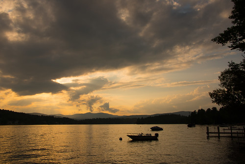 sky lake water clouds bristol unitedstates newhampshire