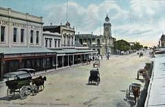 East Street, Rockhampton - circa 1910
