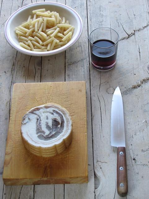 Sedanini Cacio&Vino alla Pancetta
