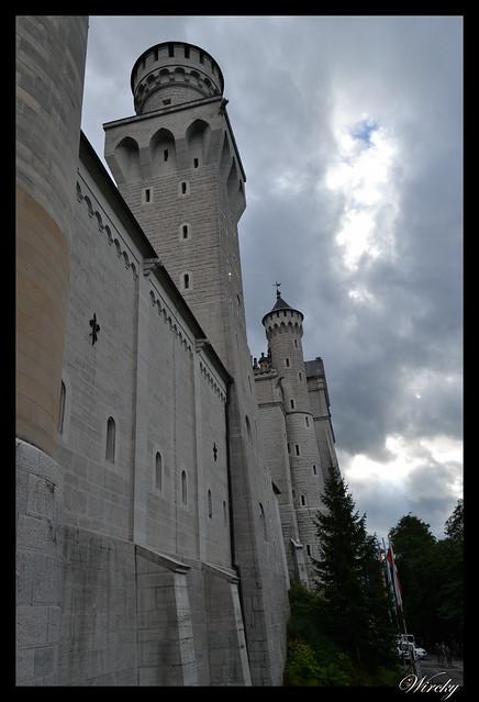 Torreones del castillo de Neuschwanstein