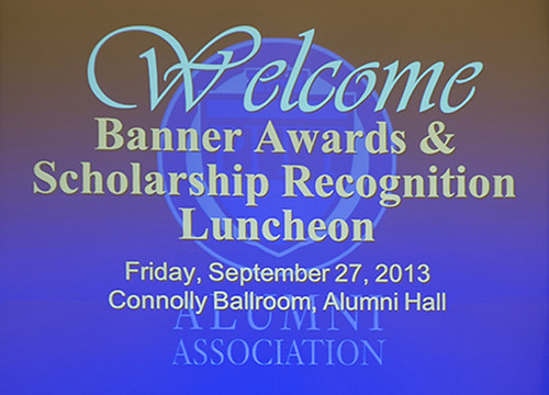 2013 Homecoming - Banner Awards and Scholarship Recognition Lunch  Gallery