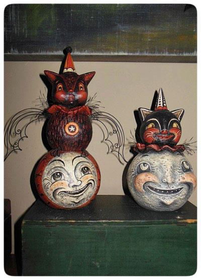 Donna's-Photo-Johanna-Parker-Collection-Halloween-Moon-Folk-Art