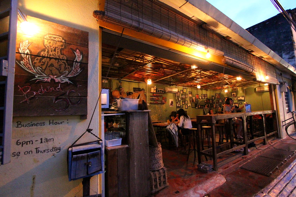 George Town Cafes: Behind 50 Entrance