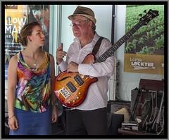 Playing Jazz in Brisbane Mall-2=