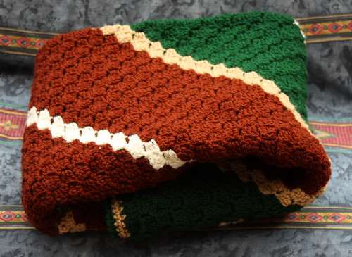 Dad's corner-to-corner blanket