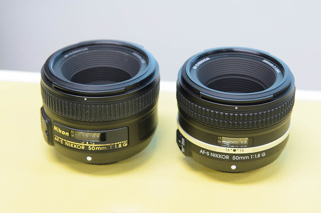 Nikon AF-S 50mm f/1.8 and Special Edition version.