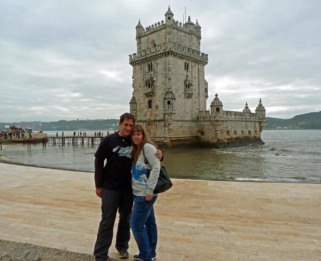 En la Torre de Belém (Lisboa)