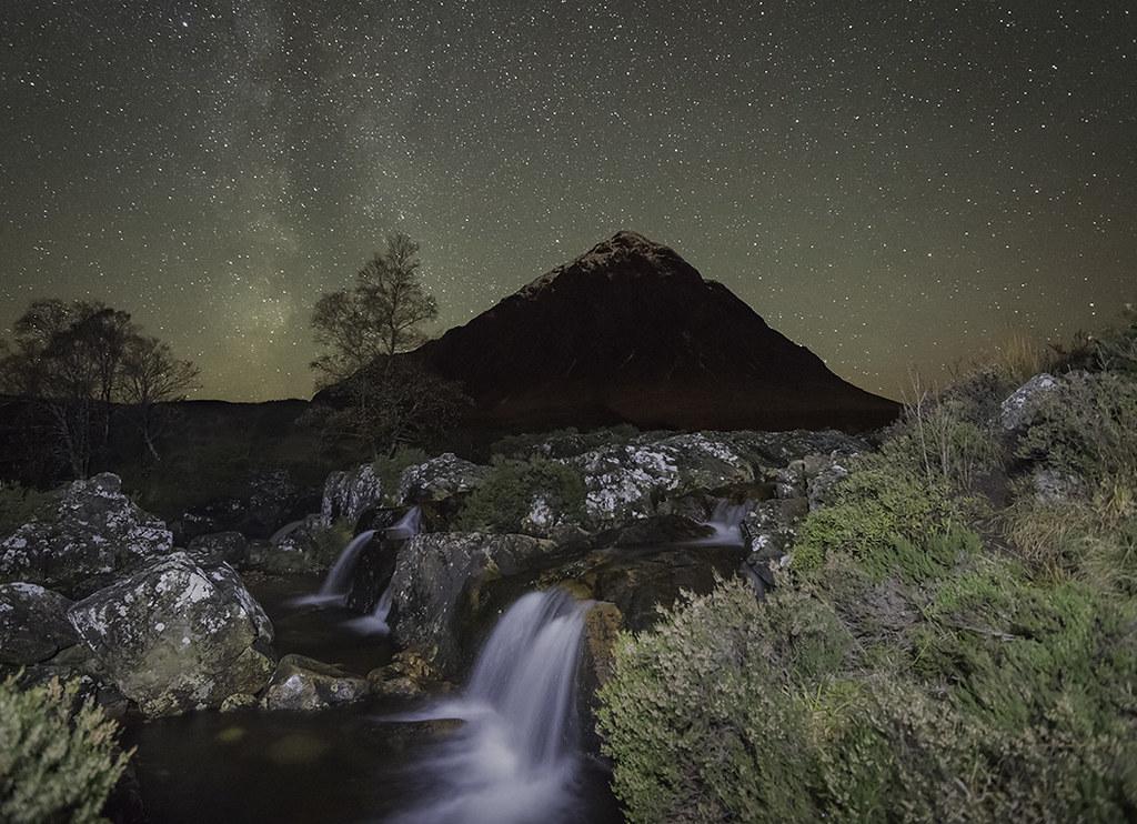 'Highland Stars' - Buachaille Etive Mor
