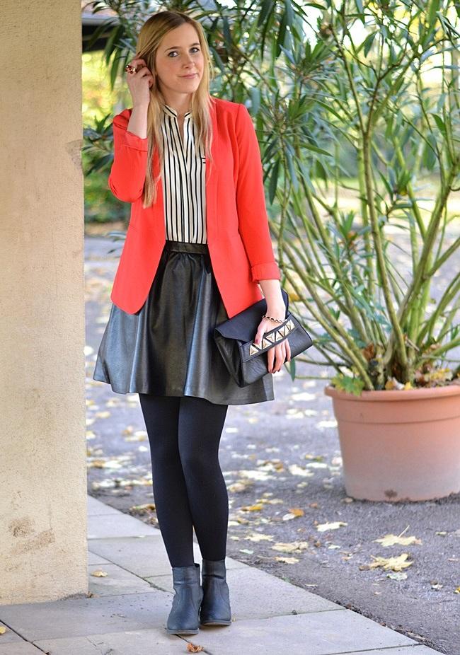 Outfit der rote Blazer (1)