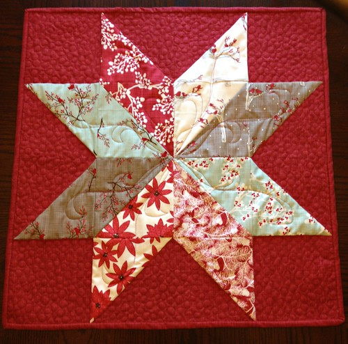 Star of Wonder Table Topper