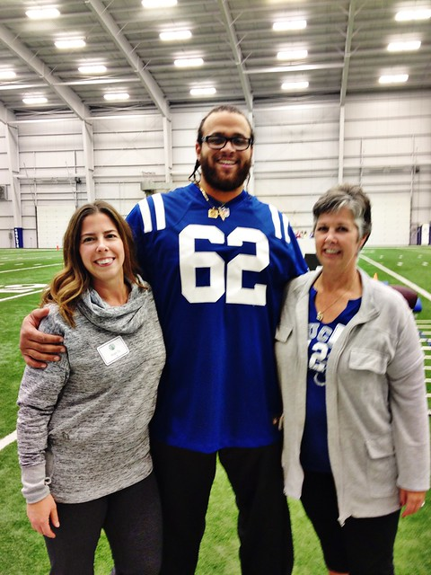 Indianapolis Colts Khaled Holmes