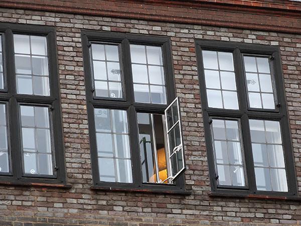 fenêtre éclairée