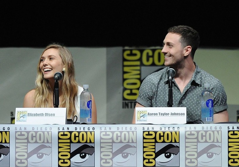 Elizabeth Olsen and Aaron Taylor-Johnson