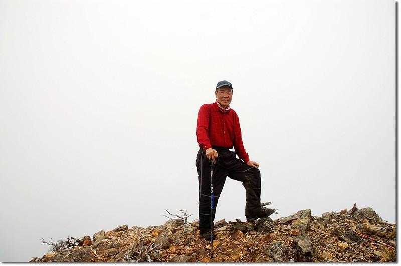 無雙山東峰(Elev. 3228 m)