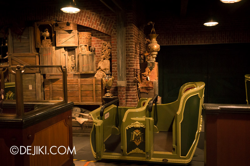 Mystic Manor - Unloading Area