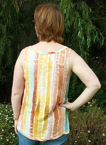 Grainline tiny pocket tank (without the pocket)