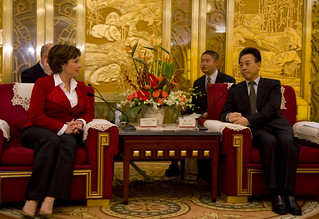 Meeting with the Governor of Sichuan