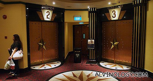 New Gold Class and Gemini cinemas at GV Grand